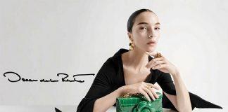 Mariacarla Boscono, elegantissima per Oscar de la Renta