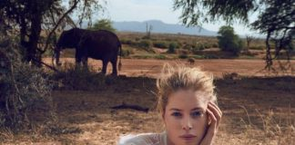 Save the Elephants con @TiffanyAndCo 😍 @Doutzen in the new #Tiffany Save the Wild #collection @ElephantCrisis httpwww.fashionpress.itsave-the-elephants-con-tiffany-co-17272.html …