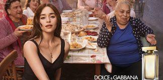 Emilia Clarke a Napoli per Dolce & Gabbana