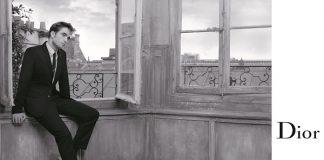 La campagnaDior Homme Primavera 2018 con Robert Pattinson