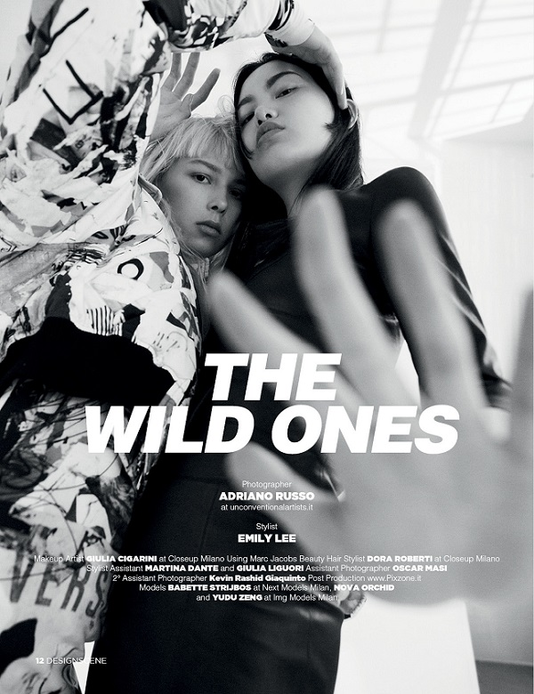 THE WILD ONES by photographer ADRIAN RUSSO fashionpress.it