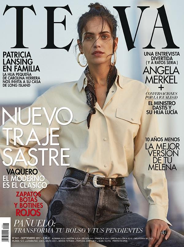 Tomás de la Fuente per Telva Magazine con Amanda Wellsh