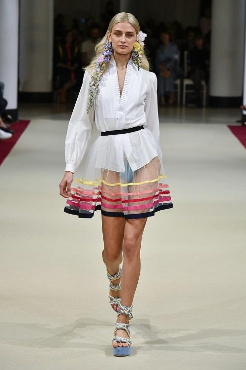 Alexis Mabille PFW SS18 fashionpress.it