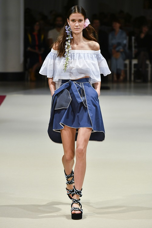 Alexis Mabille PFW SS18 fashionpress.it