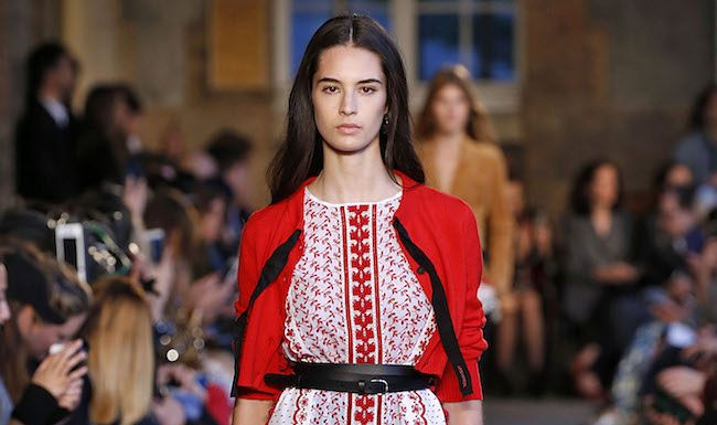 Altuzarra Paris Fashion Week Spring Summer 2018 Paris September/October 2017