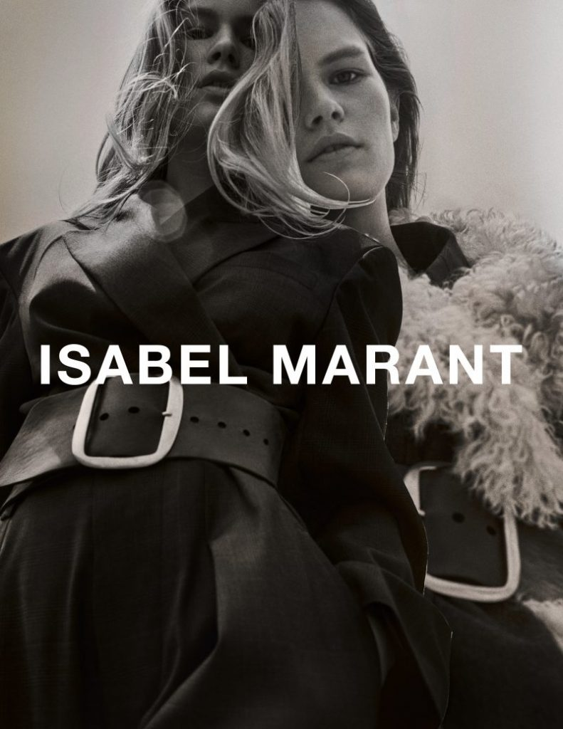 Isabel Marant Fall 2017 Ad Campaign by Inez & Vinoodh