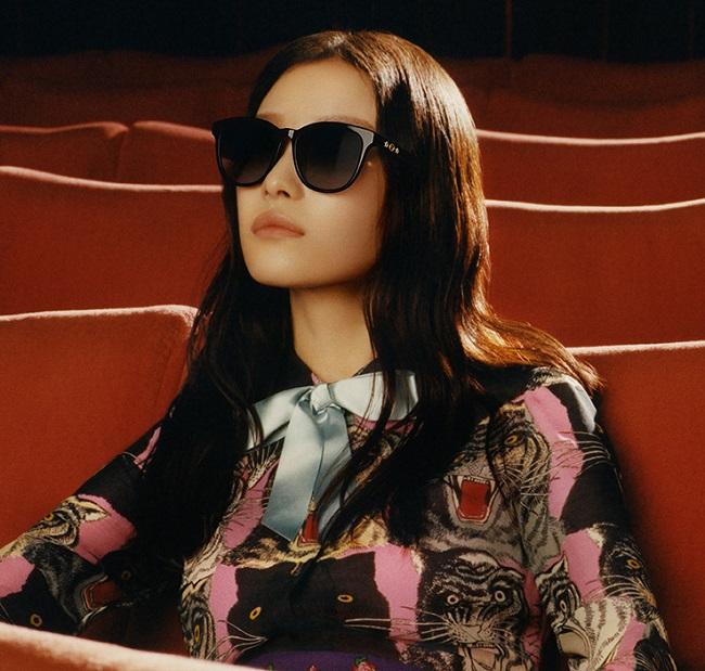Ni Ni protagonista della nuova campagna Gucci Eyewear Autunno Inverno 2017