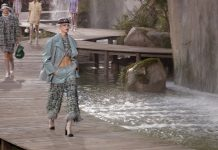 Chanel trasforma il Grand Palais nell' Eden della moda