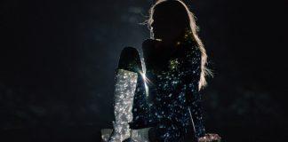 Gli stivali sparkling Chanel