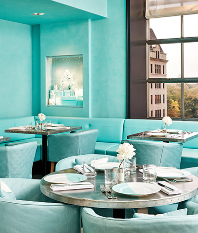 A colazione da Tiffany & Co apre il Blue Box Café allo store di New York