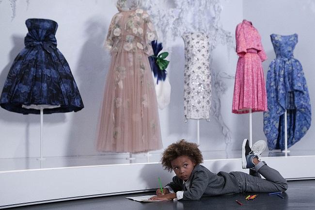 Baby Dior al Museo delle Arti Decorative