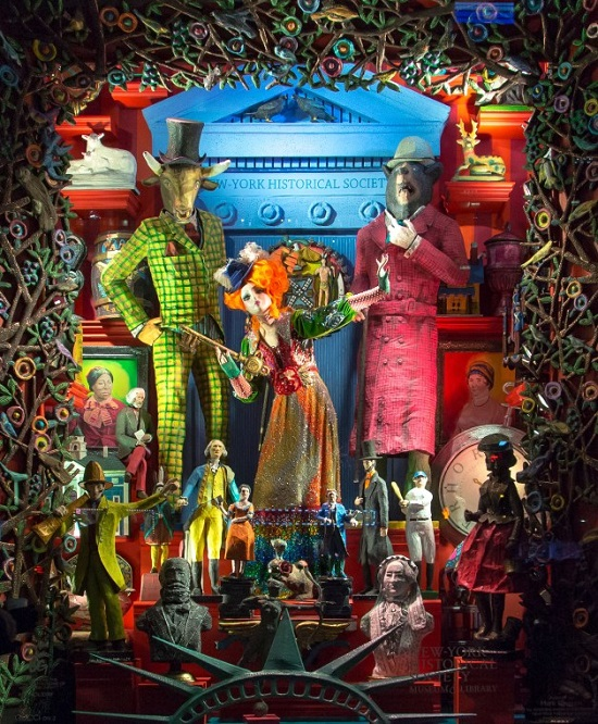 Levetrine Natalizie di Bergdorf Goodman