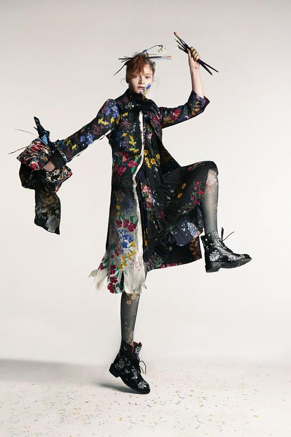 ELLE Turkey November 2017 Mia Gruenwald by Hasan Karaarslan for Fashionpress.it
