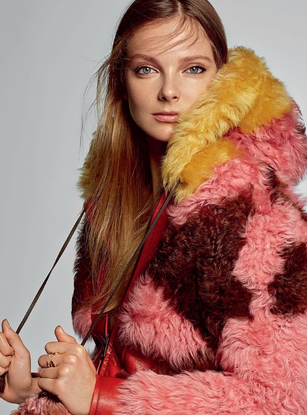 Harper's Bazaar Ukraine November 2017 Eniko Mihalik by Arseny Jabiev Fashionpress.it