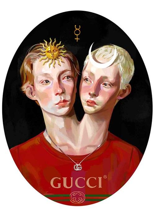I simboli e i codici alchemici del libro Gucci Gift 2017