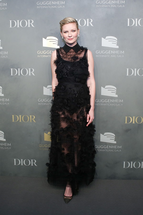 Stars in Dior al Guggenheim International Gala 2017