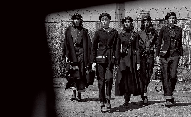 Leaders of the Gang Dior by Patrick Demarchelier