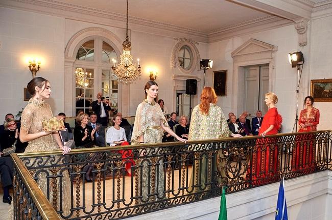 Michele Miglionico sfila a Bruxelles