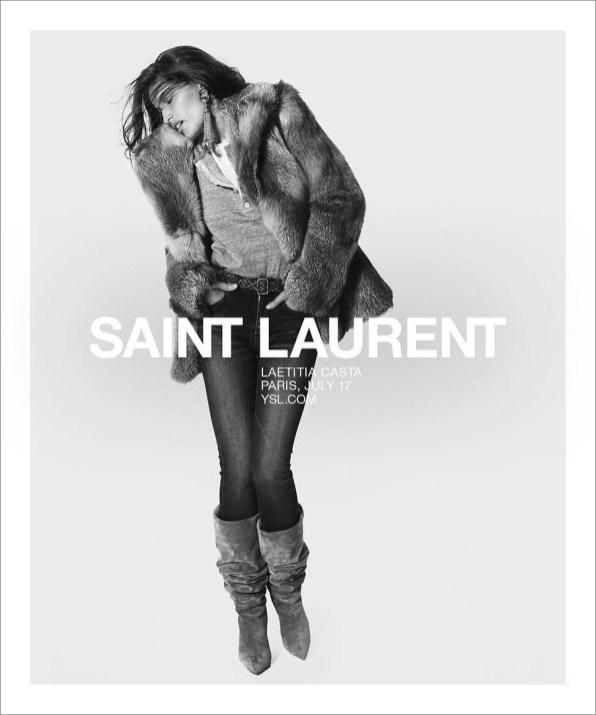 Laetitia Casta per Saint LaurentSpring 2018 #YSL12