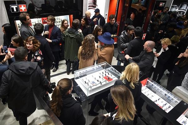 Tissot ha inaugurato la nuova Boutique a Roma