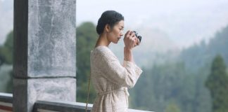 LiuWen ambasciatrice Chanel a Chengdu