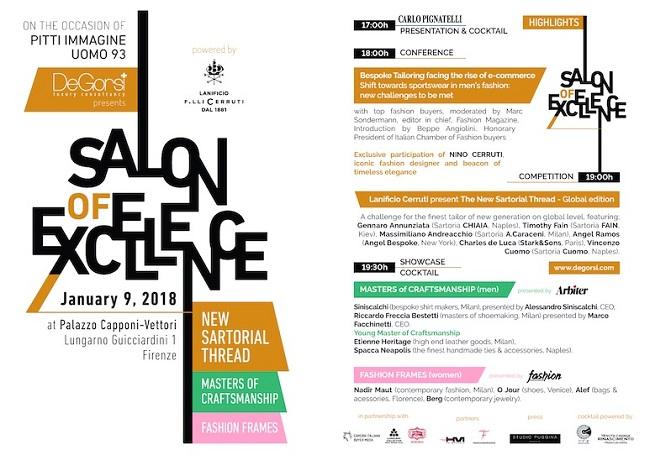 A Pitti Immagine Uomo ritorna 'Salon of Excellence'