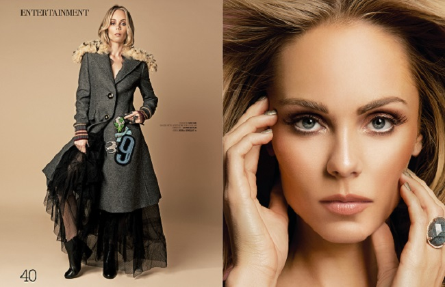 Laura Vandervoort for In Love Magazine byRyan Jerome for Fashionpress.it
