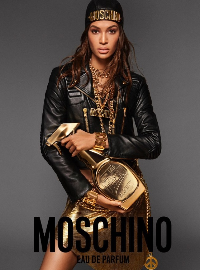 Moschino Gold Fresh Fragrance 2017 Ad Campaign