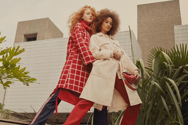 Red Valentino Pre-Spring 2018 Campaign