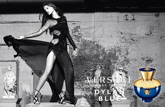 Versace Dylan Blue Femme Campaign by Bruce Weber