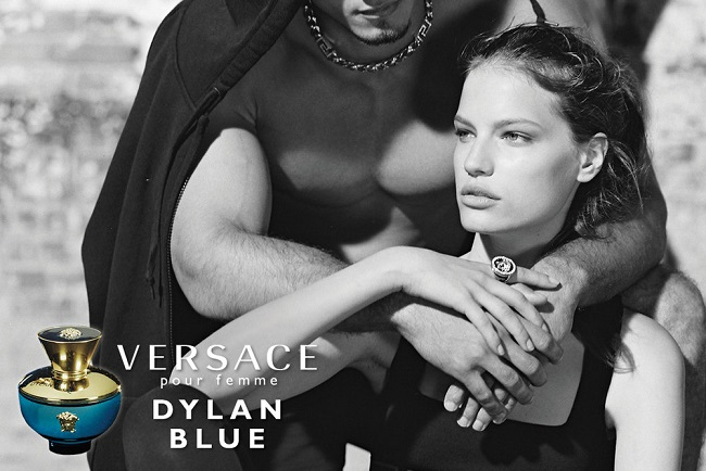 Versace Dylan Blue Femme Campaign by Bruce Weber