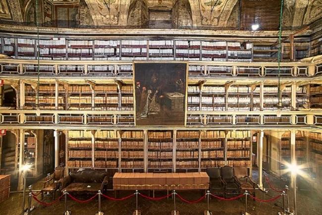 Apertura dell'Archivio Storico e Sepolcreto della Ca' Granda