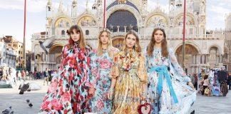 Dolce & Gabbana a Venezia per la campagna primavera-estate 2018