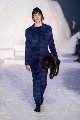 Ermenegildo Zegnasceglie la Bocconi per l'avvio di Milano Moda Uomo2018 fashionpress