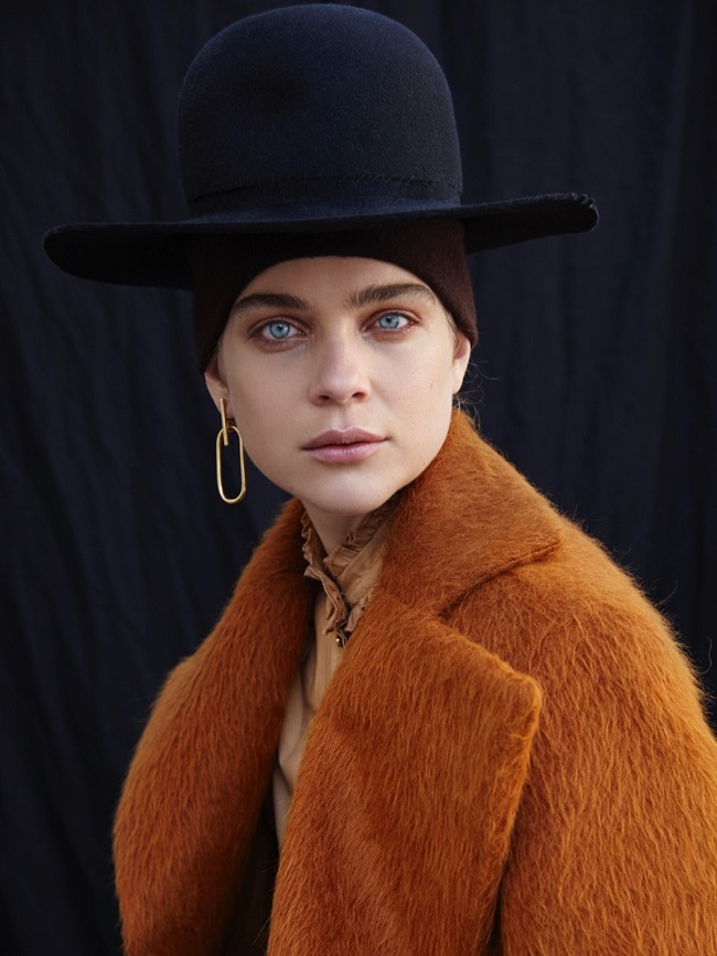 Kim Noorda is a 'Mad Hatter' for L'Officiel Netherlands by Nicky Onderwater