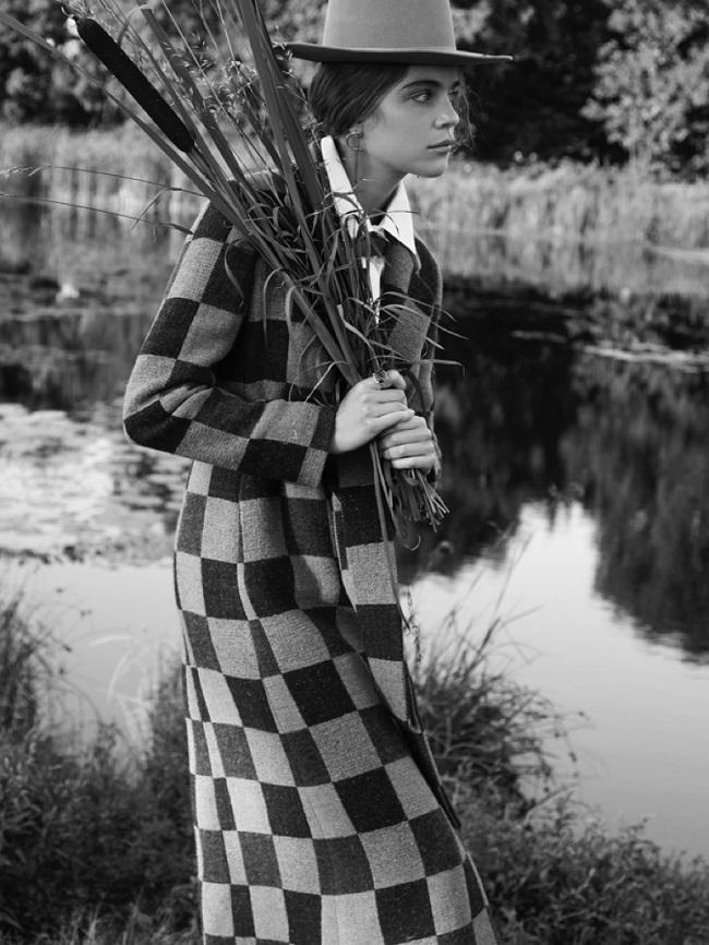 Kim Noorda is a 'Mad Hatter' for L'Officiel Netherlands by Nicky Onderwater