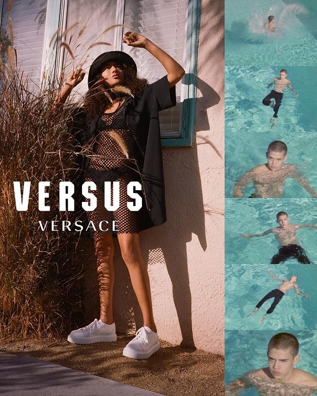 Versace: viaggio a Los Angeles con Versus
