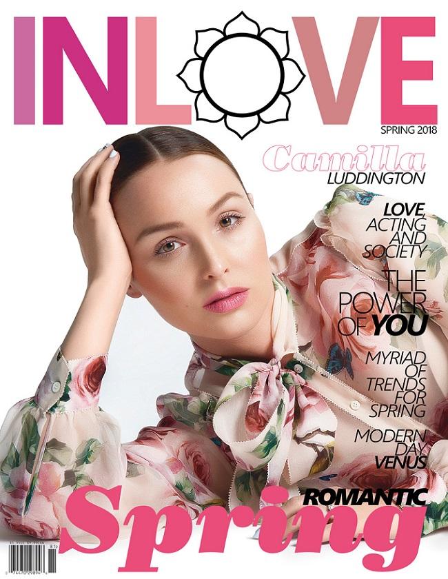 Actress Camilla Luddington for INLOVE magazine byRyan Jerome