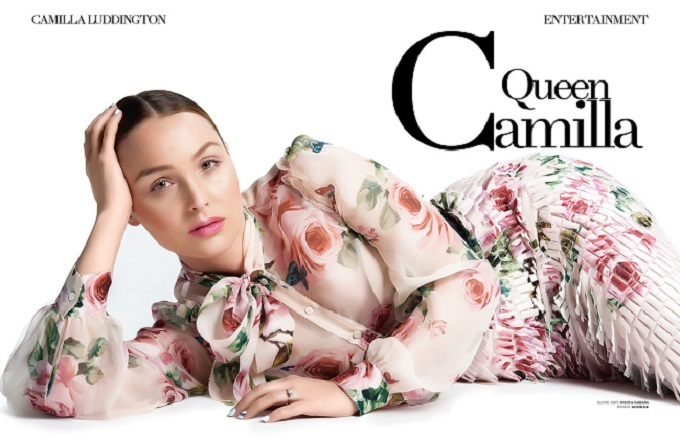 Actress Camilla Luddington for INLOVE magazine by Ryan Jerome