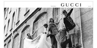 Gucci, la campagnaPre-Fall 2018è un omaggio al '68 francese
