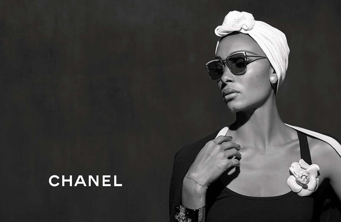 Chanel | Eyewear Spring Summer 2018 Ad Campaign by Karl Lagerfeld