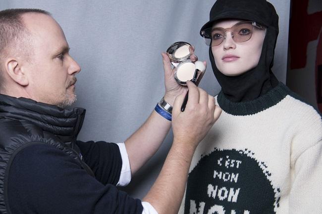 Dior, il beauty look della sfilata FW18