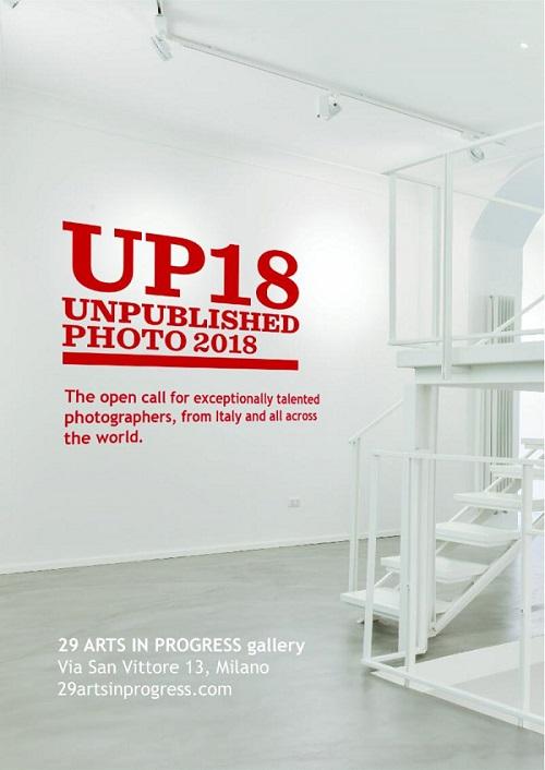 """29 ARTS IN PROGRESS gallery lancia la prima edizione di """"UNPUBLISHED PHOTO 2018"""""""