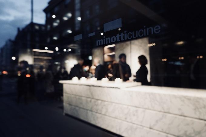 Inaugurato il primo flagshipstore minotticucine a Londra