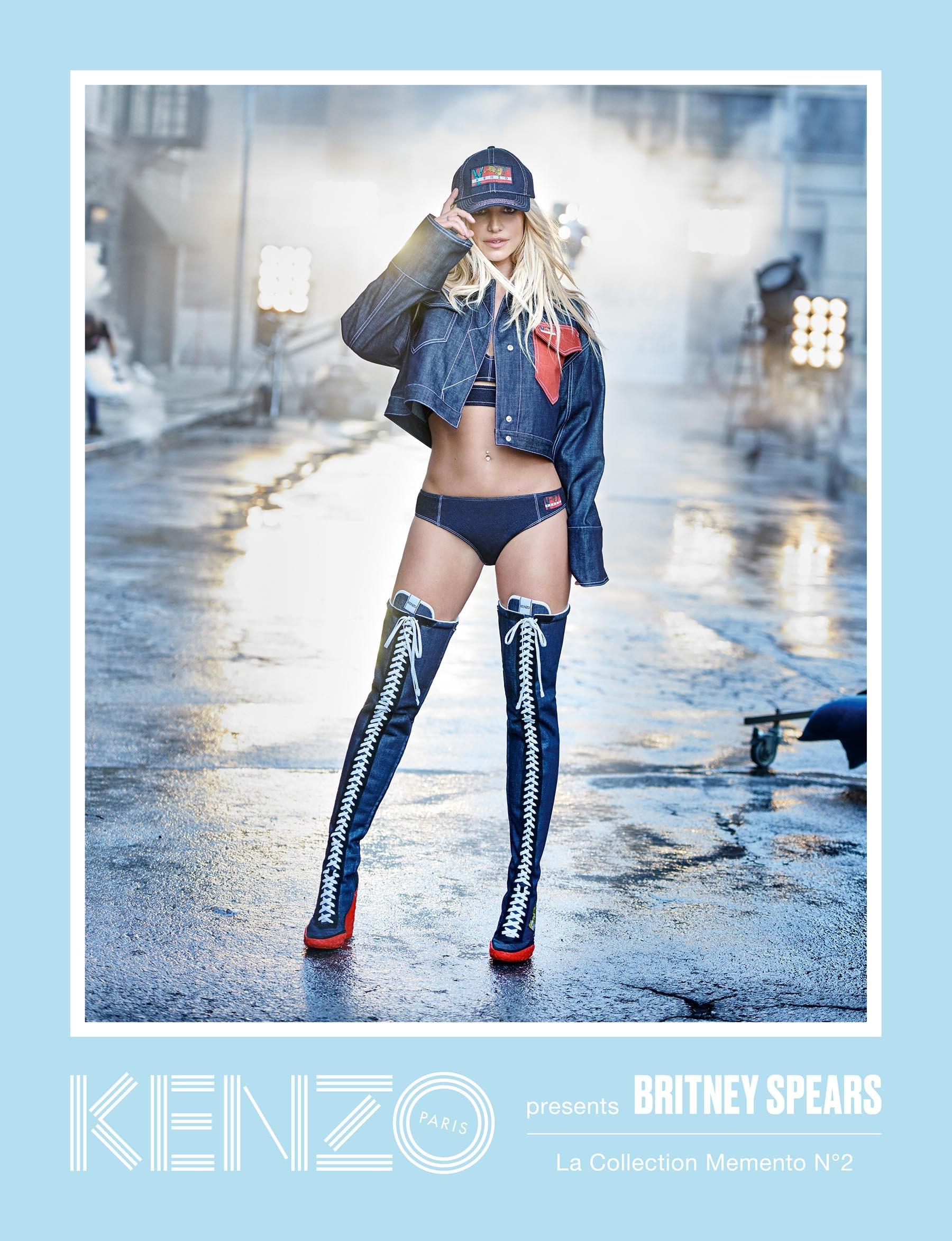 Britney Spears è la protagonista della nuova campagna Kenzo