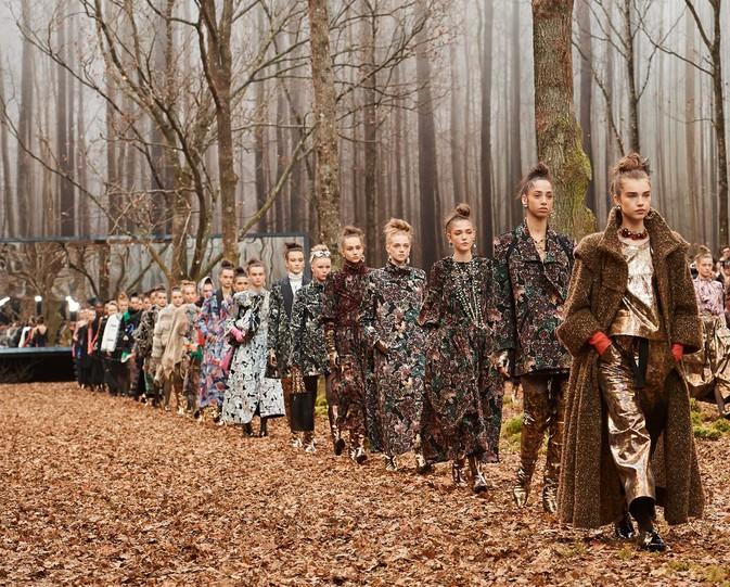 La foresta incantata di Chanel