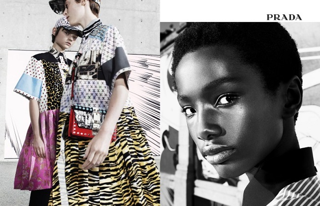 Prada Spring 2018 Ad Campaign Dja & Willy Vanderperre