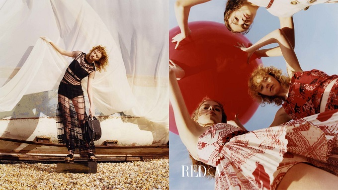 Red Valentino takes its Spring 2018 campaign to Dungeness, England.