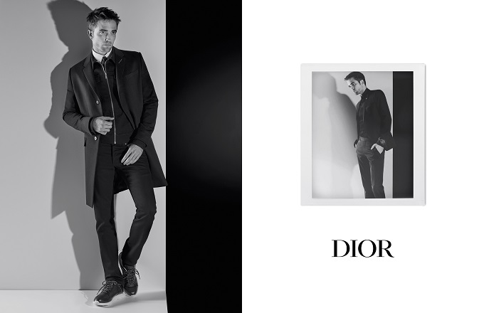 Lagerfeld Shoots Robert Pattinson for Dior Homme Autumn Ads