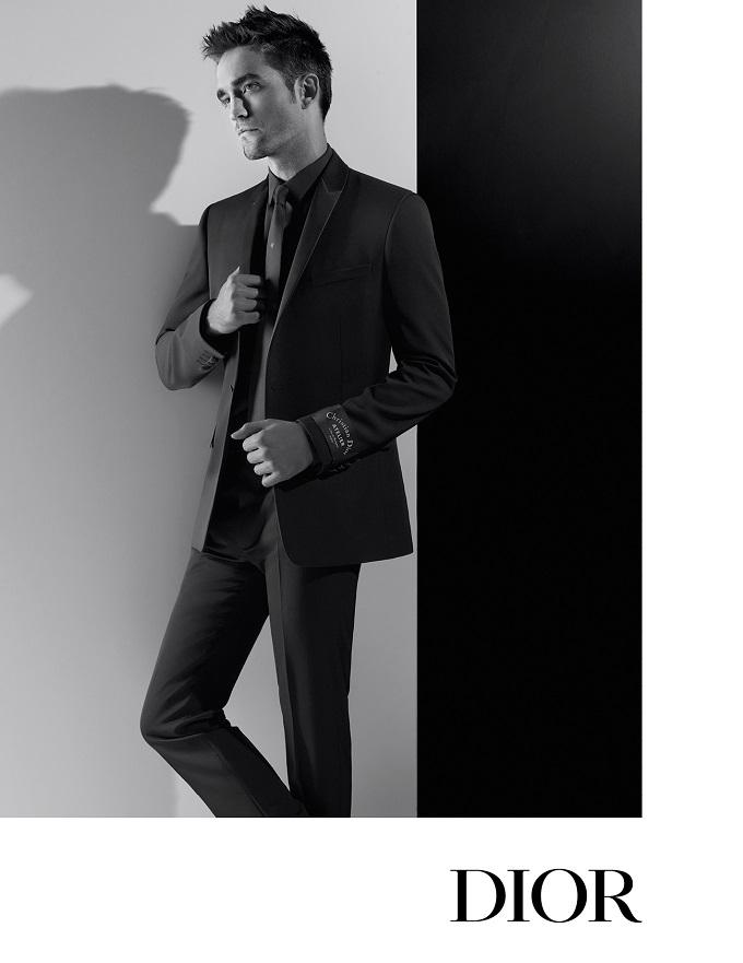 Lagerfeld Shoots Robert Pattinson for Dior Homme Autumn Ads